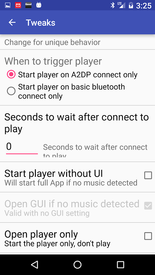 Bluetooth connect & Play- screenshot
