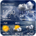 Sense Flip clock weather forecast ☔️ 15.1.0.46202