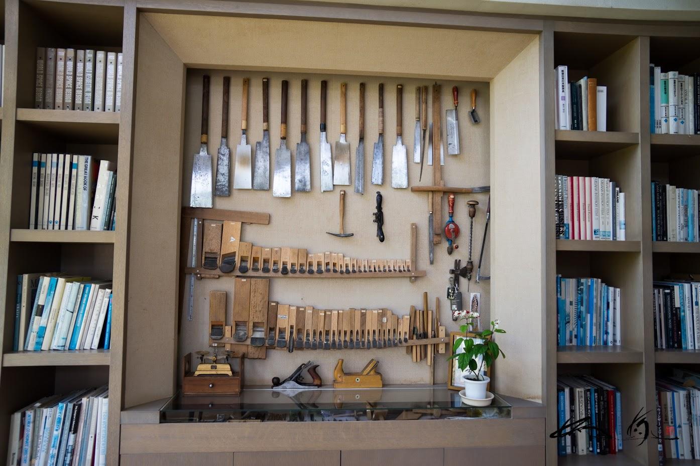 匠の技を生み出す道具たち