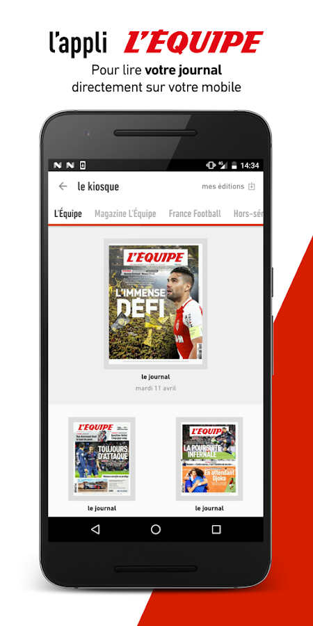 L'Équipe - live sports news- screenshot