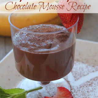 Healthy And Easy Chocolate Mousse.