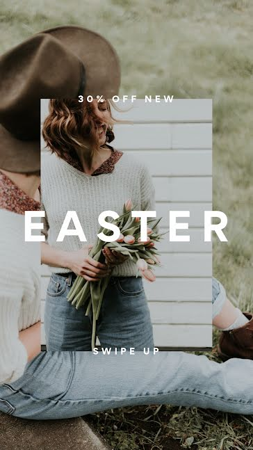 Easter Spring Sale - Easter Template