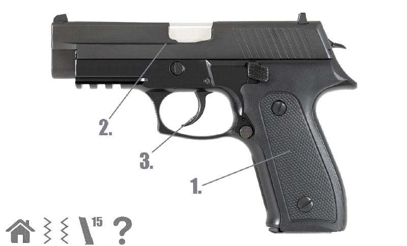Скриншот Пистолет симулятор