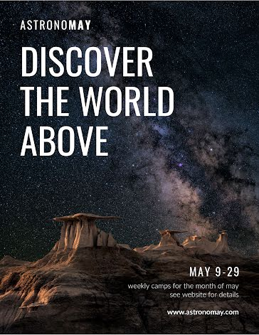 Discover the World Above - Flyer Template