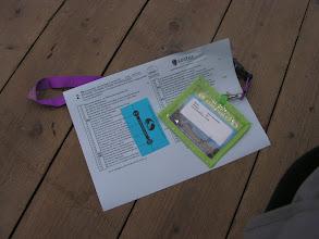 Photo: Hoppa, we zijn binnen en hebben de nieuwe route en de nieuwe knipkaart voor morgen! En morgen is de dag van Heino!