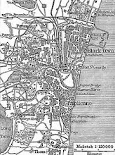 Photo: old map of Madras