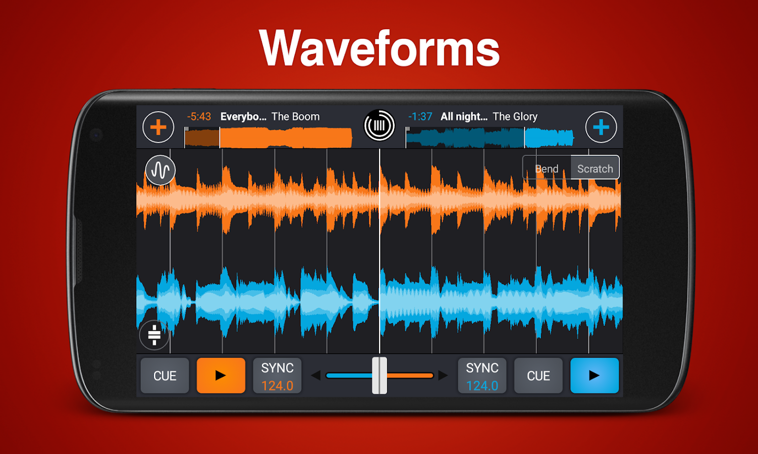 Screenshots of Cross DJ Pro - Mix your music for iPhone