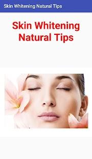 Skin Whitening Natural Tips - náhled