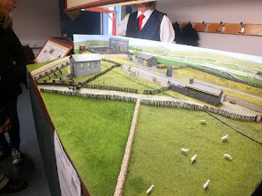 Photo: 121 Another view of the scenic extension to the front of the layout at Garreg Wen, which provides a very much enhanced sense of depth and perspective to the already attractive scene .