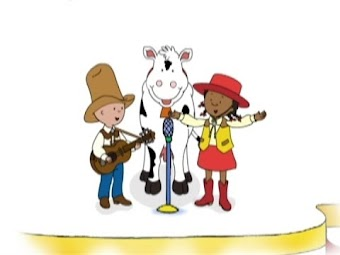 Caillou Sings
