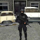 Miami Crime Police Slum City