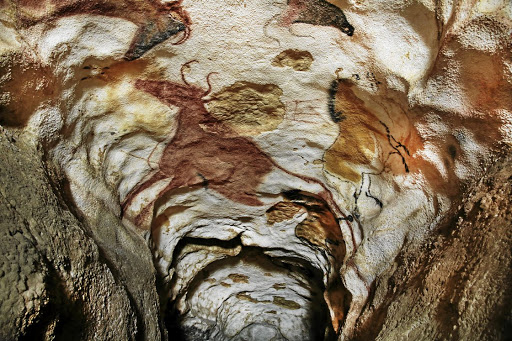 Painted by people who braved cave bears and restricted spaces to reach them, the Lascaux caves in northwestern France were preserved by the limestone and were discovered in 1940.
