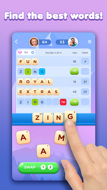 Wordzee! Android App Screenshot