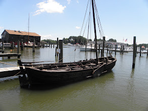 Photo: Type of boat used by Captain John Smith when exploring the Chesapeake