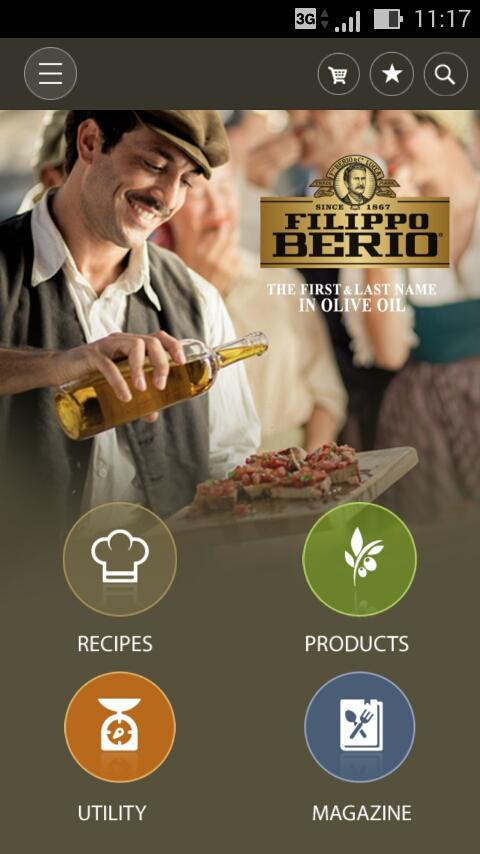 Filippo Berio for Food Lovers- screenshot
