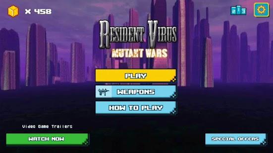 Resident Virus Mutant Wars - náhled