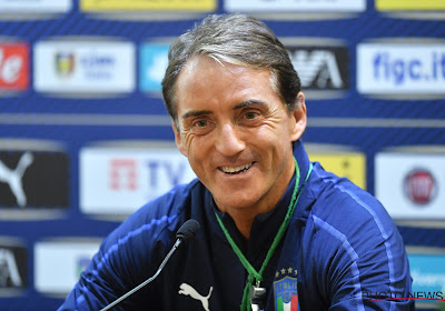 """Roberto Mancini fier des débuts réussis de l'Italie : """"C'était une belle soirée, espérons qu'il y en aura d'autres"""""""