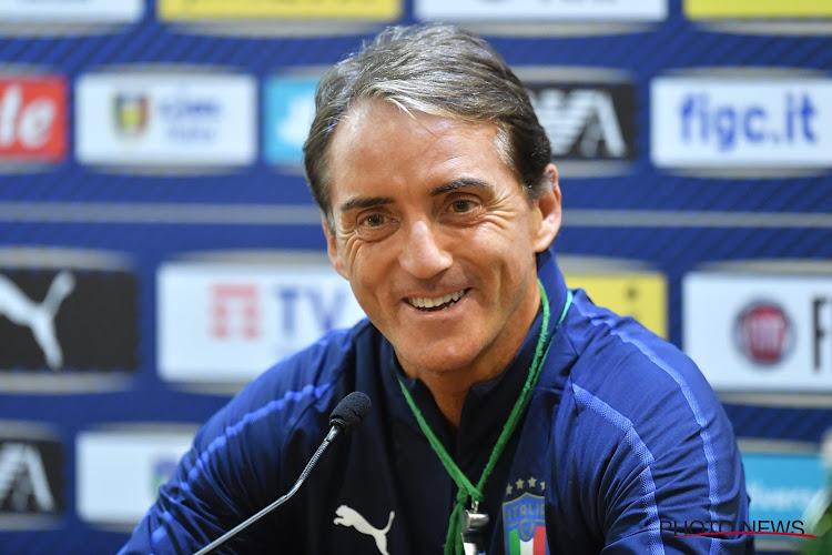 Roberto Mancini testé positif au coronavirus