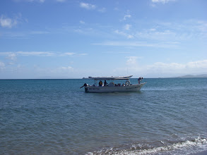 Photo: Heading out to snorkeling spot