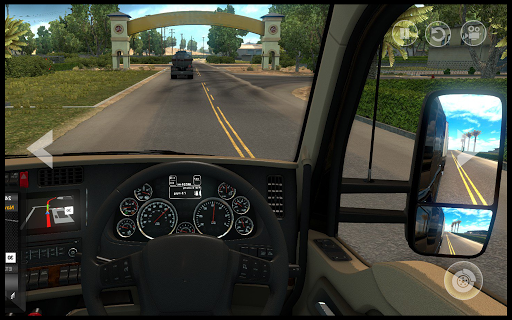 In Truck Driving : City Highway Cargo Racing Games 1.0 screenshots 2