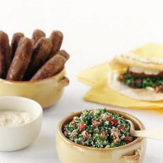 Kofta Kebabs With Tabouli