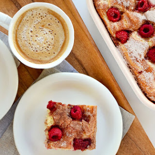 Raspberry Sour Cream Coffee Cake Recipe