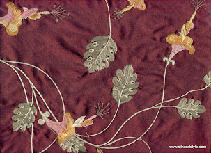 Photo: Mysore 07 - Felicity Series Embroidery - Ruby