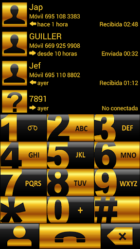THEME CHESS GOLD EXDIALER