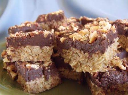 Triple Peanut Butter Bars Recipe