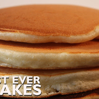 The Best Ever Pancakes.
