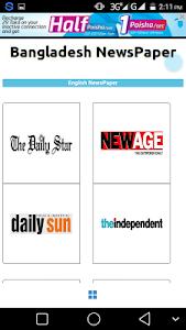 BD Newspapers – All Bangladeshi Bangla and English newspaper