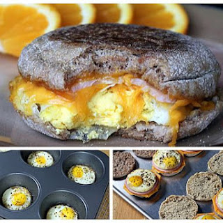 Healthy Egg McMuffin Copycats.
