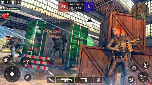 Counter Attack Shooting (CAS) - New FPS Strike apkmind screenshots 3