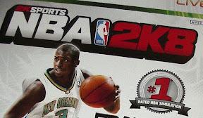 [XBOX360]玩一場紮實的球賽!NBA 2K8遊戲心得!