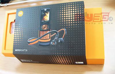 [Mobile]無線Fun音樂:Moto Rokr Z6使用心得報告!