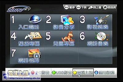 [評測]ZINTV BT電視播放器使用心得-網路應用篇(二)