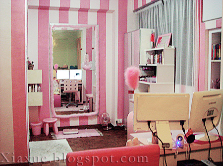 this is my half of the master bedroom otherwise known as what i call the princess room - Princess Room