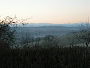 Photo: Le Pyrénées vues depuis Marestaing en février 2008