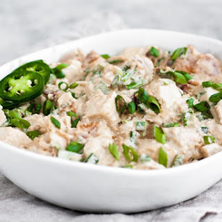 Jalapeño Popper Chicken Salad.