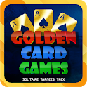 Golden Card Games (Tarneeb - Trix - Solitaire) icon