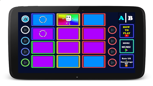 Marchmello Launchpad - EDM Dj beat mixer apkdebit screenshots 6