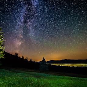 Magic night by Laky Kucej - Landscapes Starscapes (  )