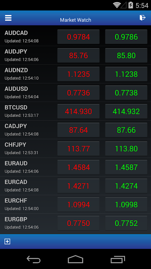 SoloTrader Mobile- screenshot