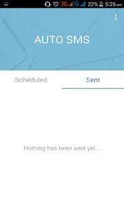 Auto SMS screenshot 6