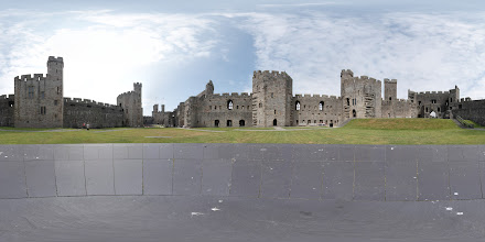 Photo: Caernarfon Castle Photosphere