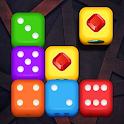 Merge Block: Dice Puzzle icon