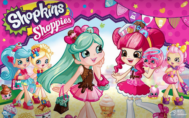 Shopkins HD Wallpapers New Tab Theme