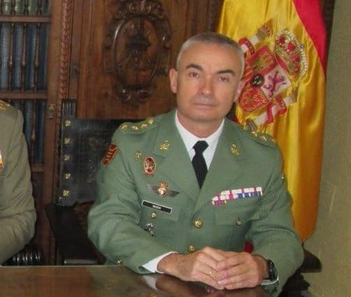 El general Melchor Marín, nuevo jefe de la Legión