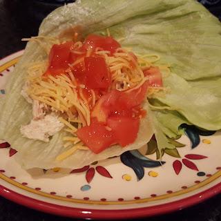 Tuna Lettuce Wrap!.