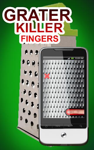 Grater Killer Fingers